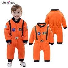 Umorden אסטרונאוט תלבושות חליפת חלל Rompers עבור תינוק בני פעוט תינוקות ליל כל הקדושים חג מולד מסיבת יום הולדת קוספליי תחפושת