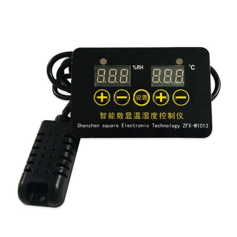ZFX-W1013 12V 24V 220V Microcomputer Digital Display Temperature Controller Thermostat Intelligent Time Controller Adjustable El