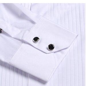 Image 5 - DARO חולצה לבן טוקסידו חולצה מסיבת חתונה חולצה 2020 חדש הולם חולצה 883