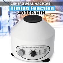 Эффективная 800D 4000 об/мин Электрический лабораторный центрифуга медицинская практика машина настольная центрифуга