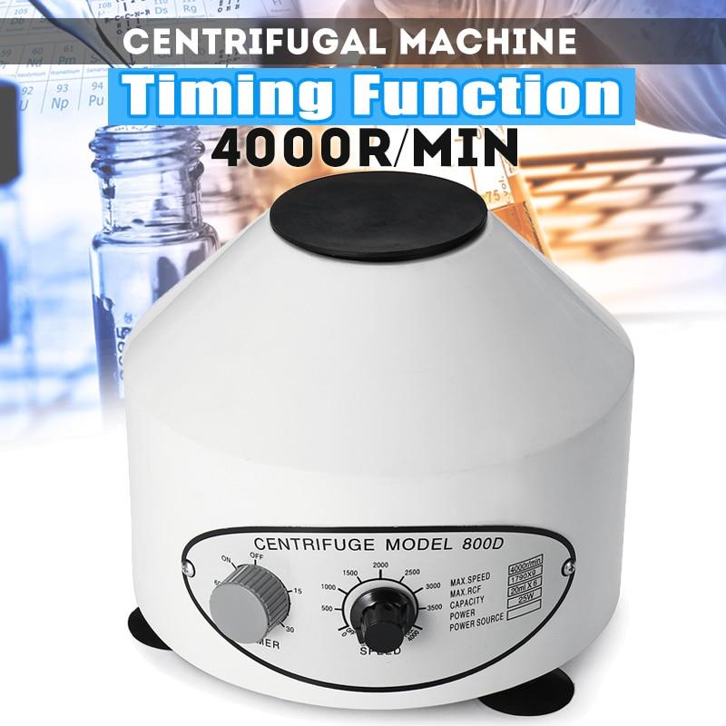 Efficient 800D 4000rpm Timing Electric Laboratory Centrifuge Medical Practice Machine Desktop Centrifuge