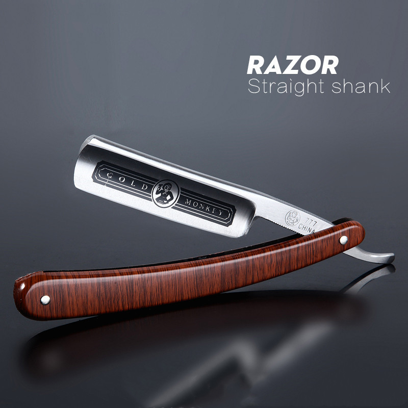 Gold Dollar Classic Steel Straight Edge Salon Barber Shaving Razor Shaver SHAVING RAZOR Barber Tools G0317