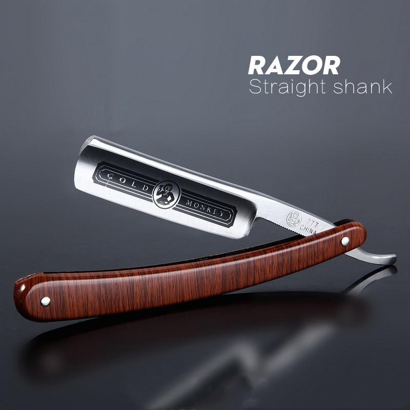 Gold Dollar Classic Steel Straight Edge Salon Barber Shaving Razor Shaver SHAVING RAZOR Barber Tools G0317