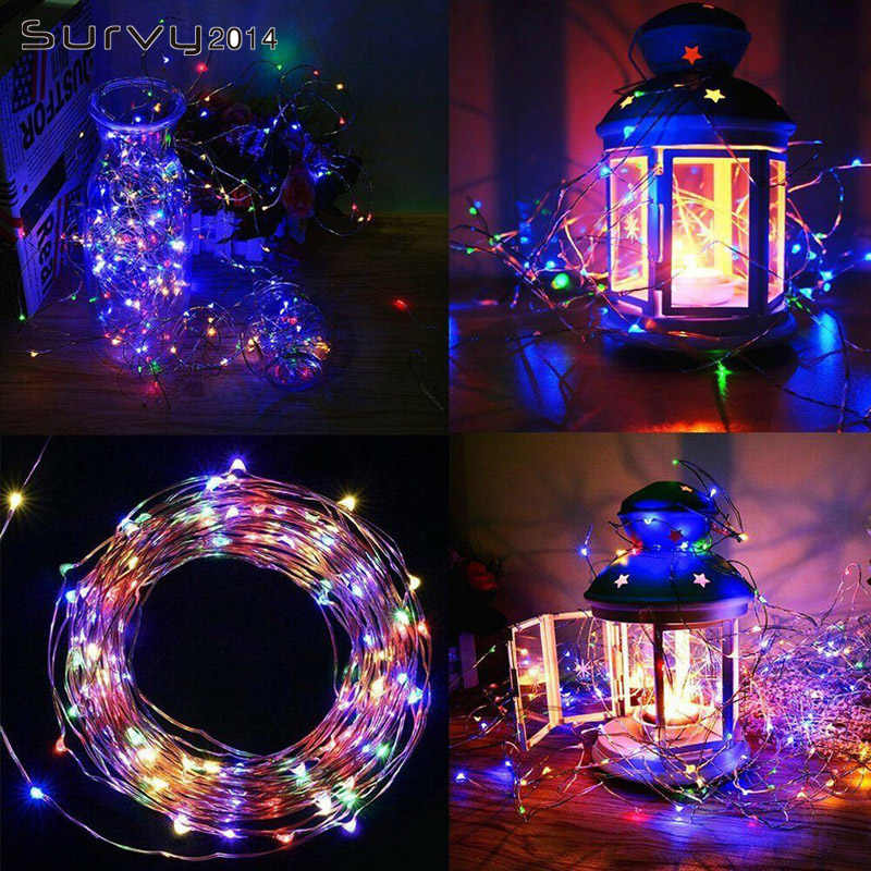 10/20M Led Outdoor Solar Light Led String Licht Fairytale Holiday Christmas Party Guirlande Diy Elektronische Product Elektronische