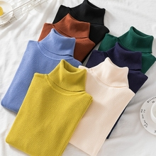 Korean Turtleneck Full Sweater Women's 2020 New Autumn Winte