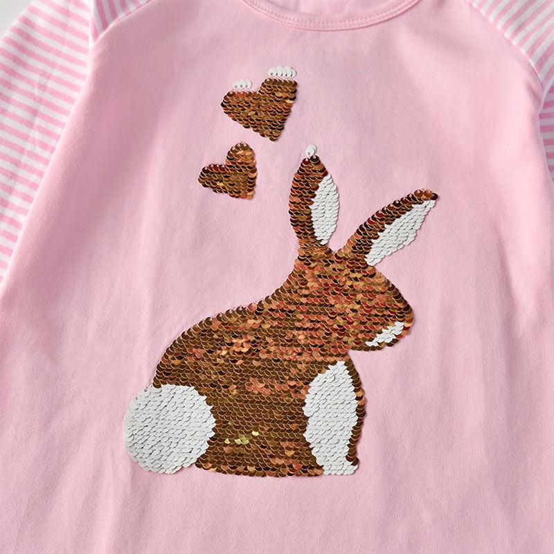Hd187be054f8d482aabcfd3676823c5e4D VIKITA Girls Cotton Dress Long Sleeve Children Patchwork Vestidos Kid Dresses for Girls Clothes Toddlers Cartoon Princess Dress