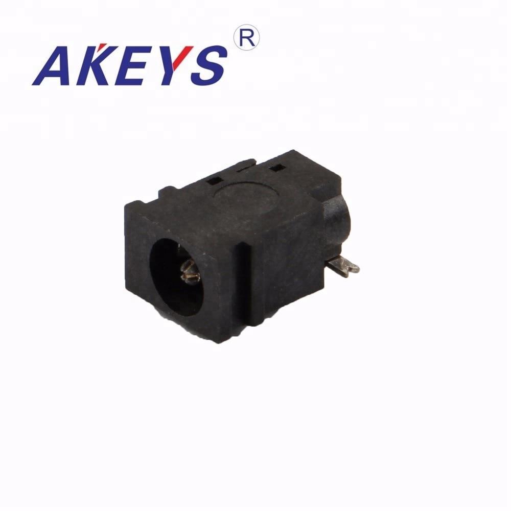 10 шт. DC-049A 3,8*1,65 мм разъем питания постоянного тока 2 pin квадратный водонепроницаемый коннектор питания постоянного тока с 3 фиксирующий штифт