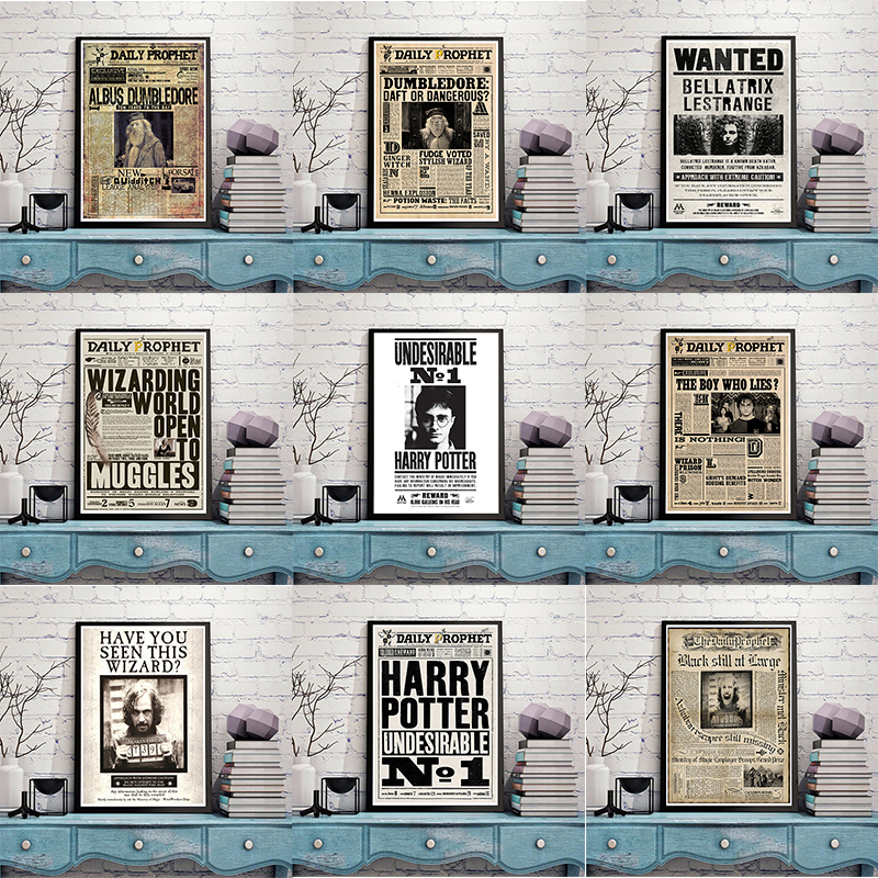 New Potter Movie Illustrator Wanted Circular  School Of Magical Lane Hogman Meade And Other Films Art Posters Movie Poster