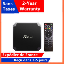 Best X96 mini Android 9.0 tv box 1G 8G 2G 16G media player x96 Amlogic S905W smart tv set top box ship from france