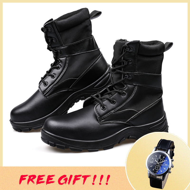 38~46 Army Boots Outdoor Strong Breathable Wear-resistant Boots Army #YB554