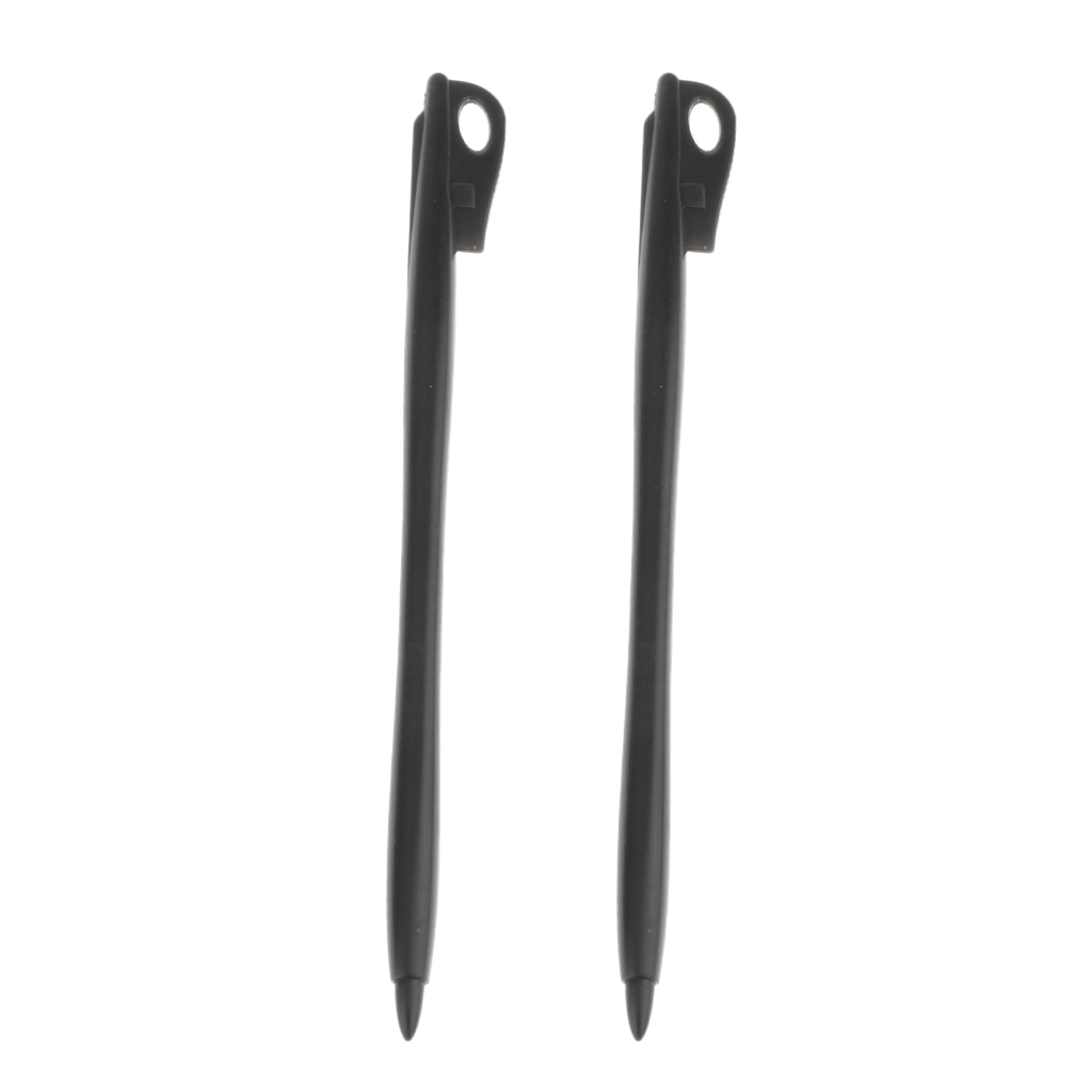 2x Universal ABS Resistive Touch Screen Stylus Thin Pen For Phone Tablets