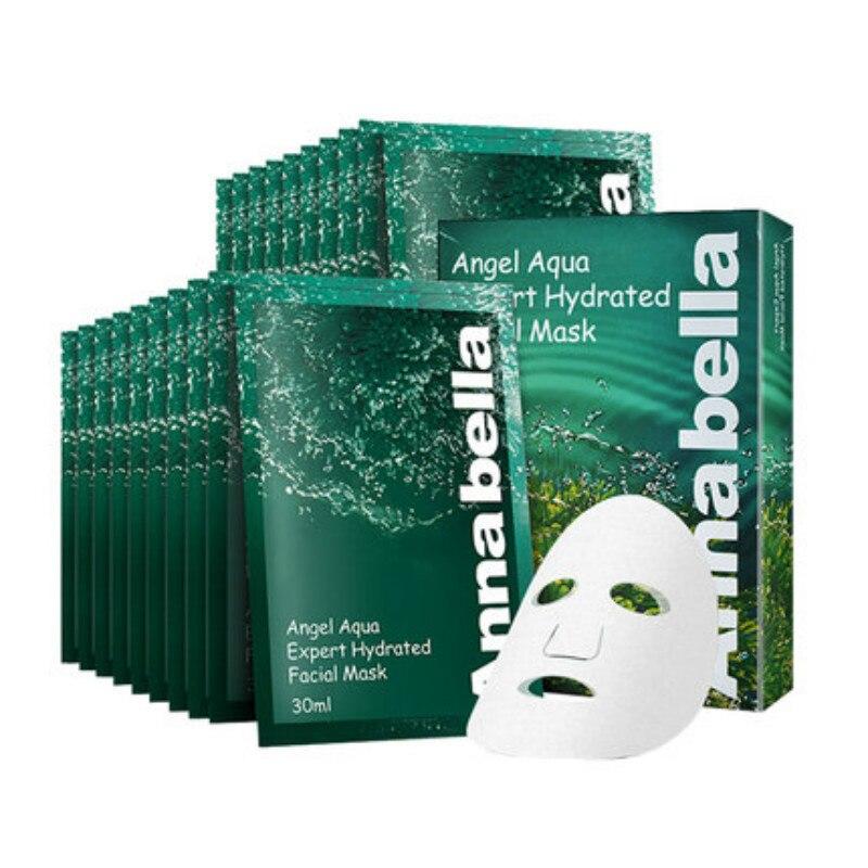 100% Thailand Annabella Seaweed Mask Moisturizing Whitening Acne Treatment Anti-Aging Peel face Mask 10pcs*30ml skin care