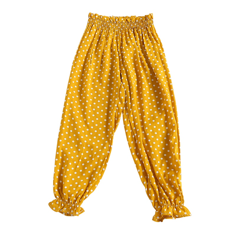 Happiekids Baby Boy Girl Summer Cotton Mosquito Bites Pants Sports Casual Toddler Floral Stripe Plaid Pattern Trousers