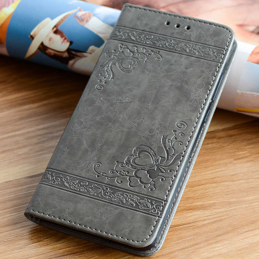 Leather Case for Samsung Galaxy S10 S9 S8 Plus S7 S6 Edge J5 J7 A3 A5 2016 Flip Cover for iPhone XS Max XR X 7 8 6 6S Plus 5S SE