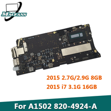 A1502 Logic-Board Macbook Retina 820-4924-A for Pro 13-8GB I7 Tested I5 16GB Original
