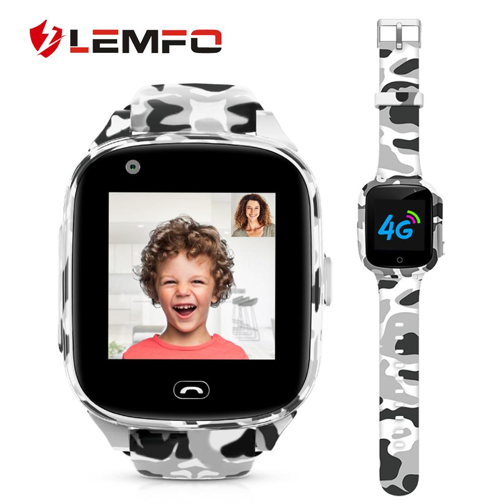 LEMFO 4G Kids Smart Watch Global Version SIM Phone Call Kids Watches GPS Waterproof Children Watch With Camera Android IOS
