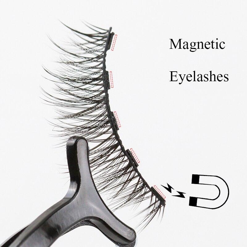 Magnetic Eyelashes False Lashes  2