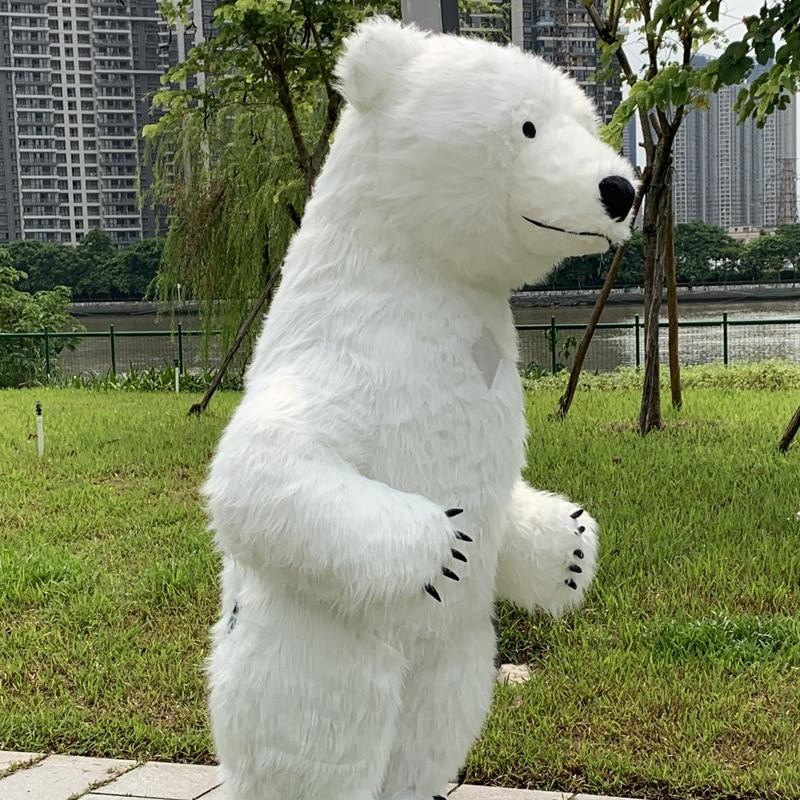 polar bear costume inflatable mascotte Pour Adultes Gonflable Polaire costume  Public Pour Fantaisies Homem Personnaliser