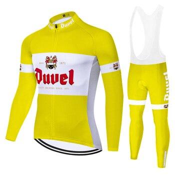 DUVEL-jersey de ciclismo de manga larga para hombre, ropa de ciclismo de...