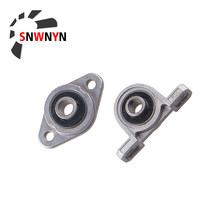 Zinc Alloy KP08 KP000 KP003 KFL08 Vertical Horizontal Mount Bearing Diameter 8mm 10mm 12mm 17mm Support Block CNC Printer Parts