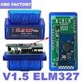 Автомобильный диагностический сканер V1.5, ELM 327 Bluetooth OBD2 сканер для Android/ПК OBD2 ELM327 Bluetooth адаптер ELM 327 V1.5 PIC18F25K80 автомобильный диагностический ин...
