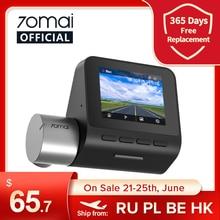 70mai-Cámara de salpicadero Pro en inglés, Monitor de aparcamiento, 1944P, DVR, GPS, ADAS, 140FOV, 24H, A500S