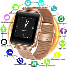 2019 New Stainless Steel Bluetooth Smart Watch Women Men Sport Waterproof SmartWatch LED Color Touch Screen Watch Support SIM TF inwatch 12 led smartwatch bluetooth 4 0 smart watch
