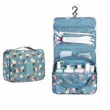 Portable Waterproof Folding Wash Box Travel Toiletry Hanging Holder Organizer Cosmetic Makeup Container Handbag Storage box