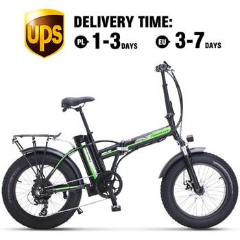 Vélo électrique 500W4.0 gros pneu vél