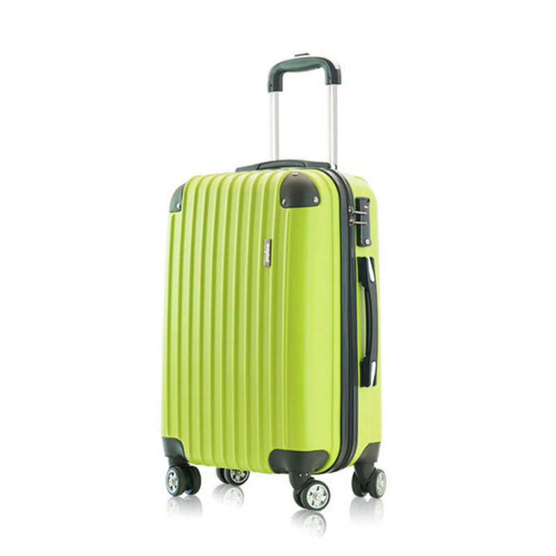 ABS Cornerite Business Aluminum Frame Travel Trolley Customizable Logo Password Suitcase Travel Lugguge Universal Wheel Boarding