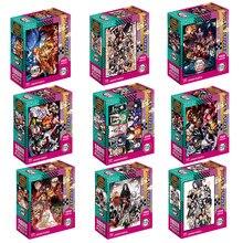 1000 pièces dessin animé série Anime Puzzle démon Slayer Kimetsu No Yaiba papier Kamado Tanjirou enfants jouets éducatifs cadeaux