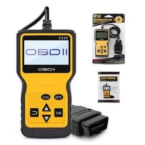 Image 1 - V310 OBDII EOBD Auto Code Reader 6 Languages Automobile Diagnostic Scanner For All OBD2 OBDII Protocols Cars LCD Display
