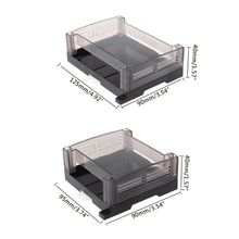цена на 1pc Transparent Plastic Industrial Control Box Panel Enclosure Case Din Rail Project Electronic DIY PCB Shell
