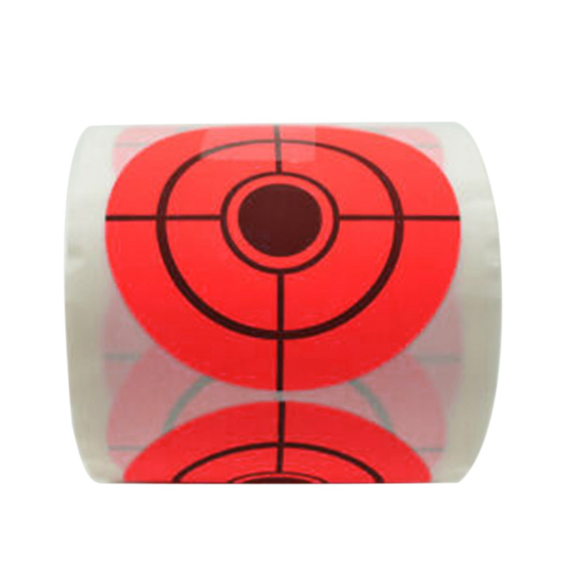 250pcs Roll Shooting Self-Adhesive Targets Practice Reactive Target Sticker 5cm