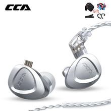 CCA CKX 6BA + 1DD Hybrid Metall Kopfhörer HIFI In-Ear-Monitor Bass Headset Noise Cancelling Ohrhörer Für KZ ZAX ZSX ASX C12 EDX Z1