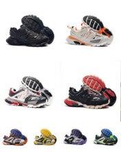 Original nuevo 2021 pista zapatillas Versión 3,0 Tess S París Triple S zapatillas de deporte Zapatos de los hombres de las mujeres zapatillas cestas de papá zapatos tamaño 36-45