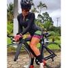 Longo triathlon manga curta camisa de ciclismo conjuntos skinsuit maillot ropa ciclismo bicicleta jérsei roupas ir macacão 9