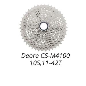 Image 5 - Shimano Deore M610 M6000 M4100 10 Speed bike cassette HG50 HG500 10 S 10V mtb della bicicletta della Montagna a ruota libera 34T 36T 11 42T 11 46T