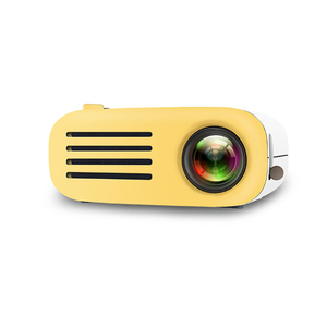 Image 2 - Retro Style Projector Mini LED Projector Home Theater Projector Game Beamer Video Player Sd Usb Speaker 320 * 240 Resolution
