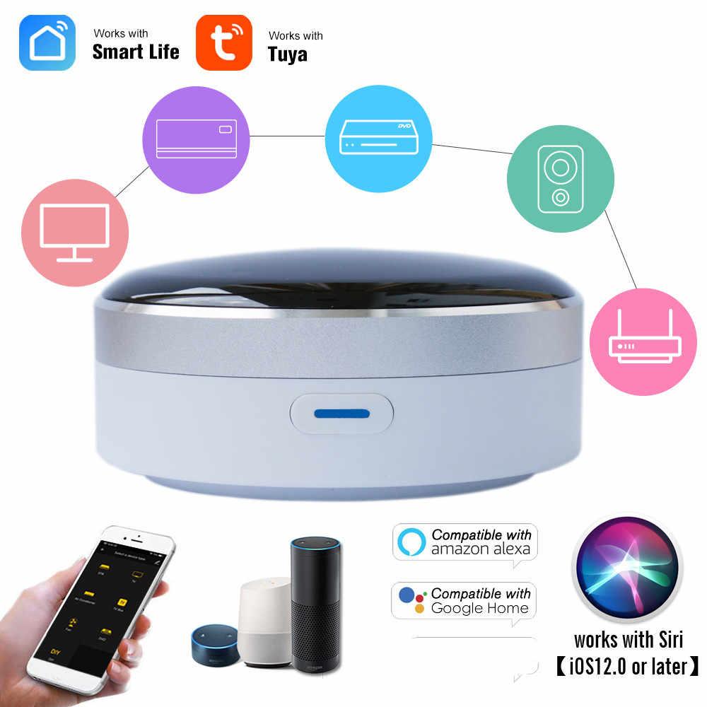 Controle remoto inteligente ir universal, controle residencial  infravermelho wifi hub tuya app funciona com google home alexa  siri|Controle de casa inteligente| - AliExpress