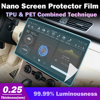 9 10.1 12.8 Nano Explosion Proof Screen Protector Film Not Glass for Android Car DVD GPS Radio Stereo Multimedia Player image