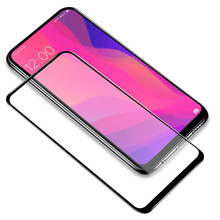 9D กาวเต็มกระจกนิรภัยสำหรับ OPPO Reno 2Z A5 A9 2020 realmi XT X2 X realme 6 5I 5 3 Pro Full Coverage Glass Screen Protector(China)