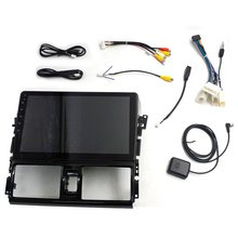 10.1-inch large-screen GPS navigation radio car player for Y