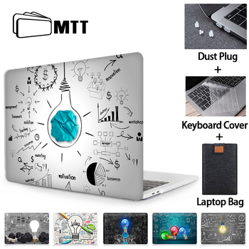 MTT Case For Macbook Air Pro Retina 11 12 13 15 16 inch Touch Bar Light Bulb Cover for macbook Pro 13 A2289 A2251 Laptop Sleeve цена 2017
