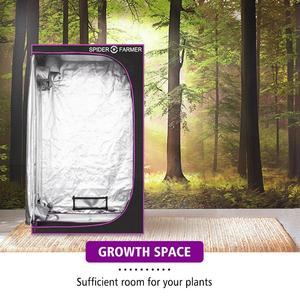 Image 5 - 2.3x4.6 70x140x200 cm Grow Tent Spider Farmer Indoor Hydroponic Home Box Plant Garden For Reflective Aluminum Oxford Cloth