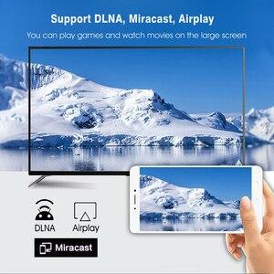 Image 5 - صندوق تلفاز ذكي H96 MAX X3 أندرويد 9.0 مع ذاكرة الوصول العشوائي 4G ROM 32G 64G 128G Amlogic S905X3 2.4G WIFI BT4.0 جوجل ميديا بلاي Andorid صندوق التلفزيون