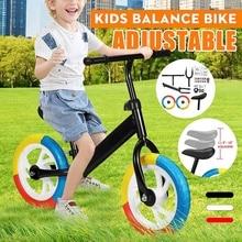 75KG Load Balance Bike Kids Walker Bicycle Ride on Toy for 2-6 Years Old Boys Girls 75KG Load Children for Learning Kids Metal