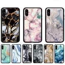 Capa paisagem tinta de mármore telefone capinhas para huawei p9 p10 p20 p30 p40 lite por psmart 2019