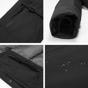 Image 5 - ICEbear 2019 חדש באיכות גבוהה חורף מעיל פשוט מקרית מעיל עיצוב גברים של חם סלעית מותג אופנה מעיילי מעילי MWD18718D