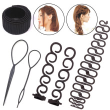 Donut Hair Braiding Hair Twist Styling Tool French Hair Twist Plait Wave Bun Maker Women Hair Accessories Hair Clip Hair Styles